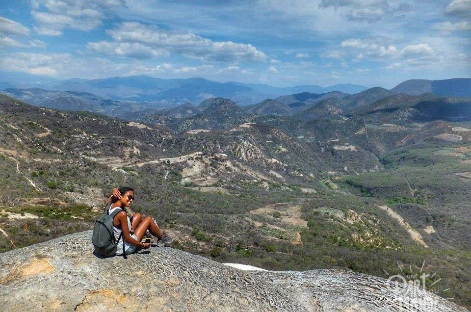 Mexique : Hierve el agua, Monte Alban et Ocotlan de Morelos
