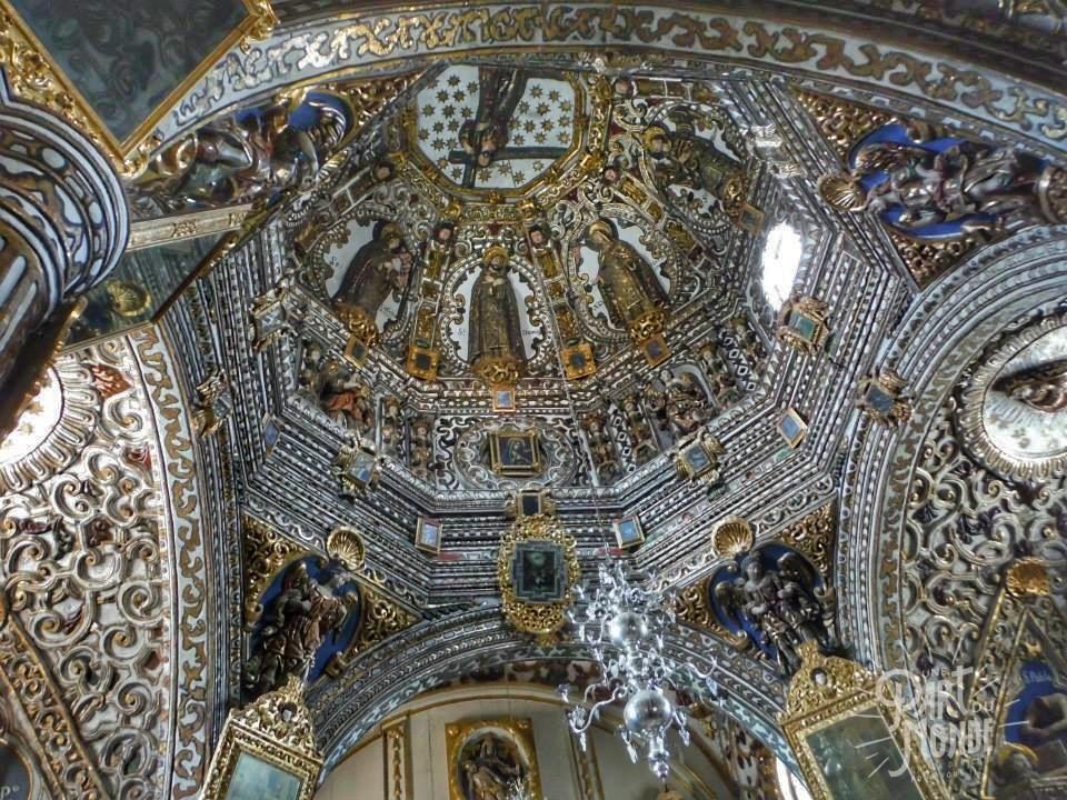 intérieur église ocotlan de morelos