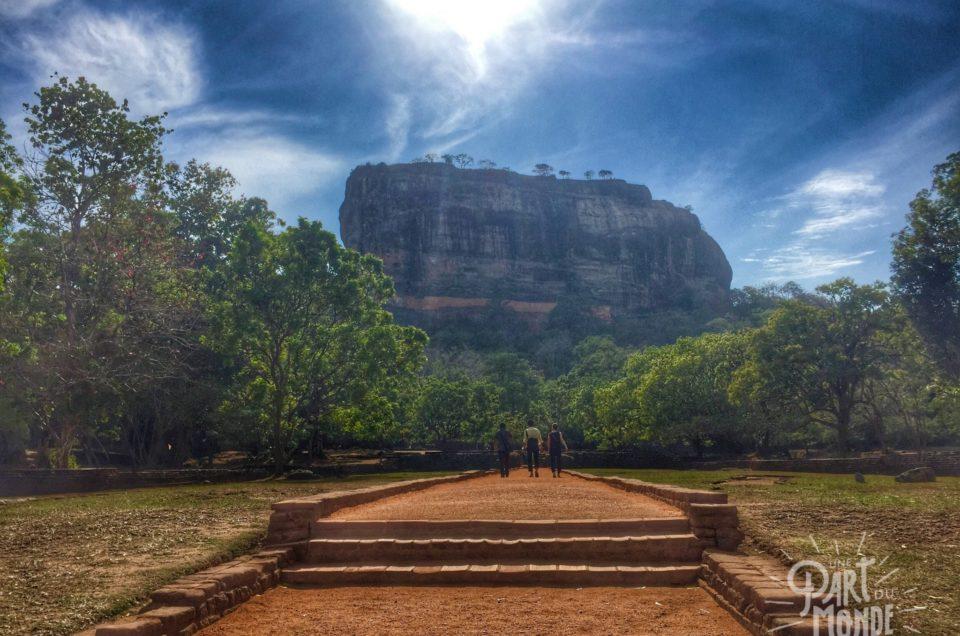 Sri Lanka : Sigiriya et le rocher du lion