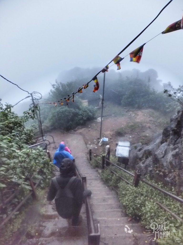 descente adam's peak