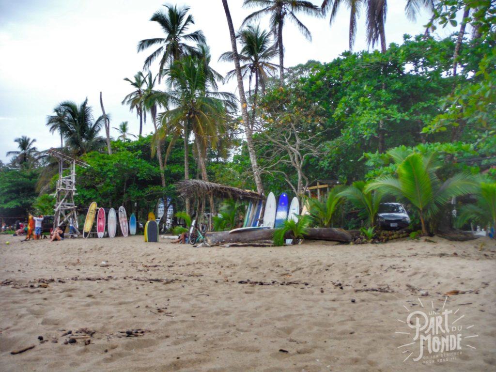puerto viejo plage surf