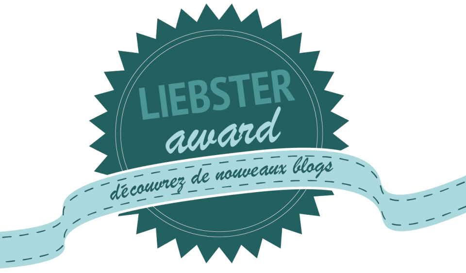 Liebster Award 2017- Une Part du Monde nominé !