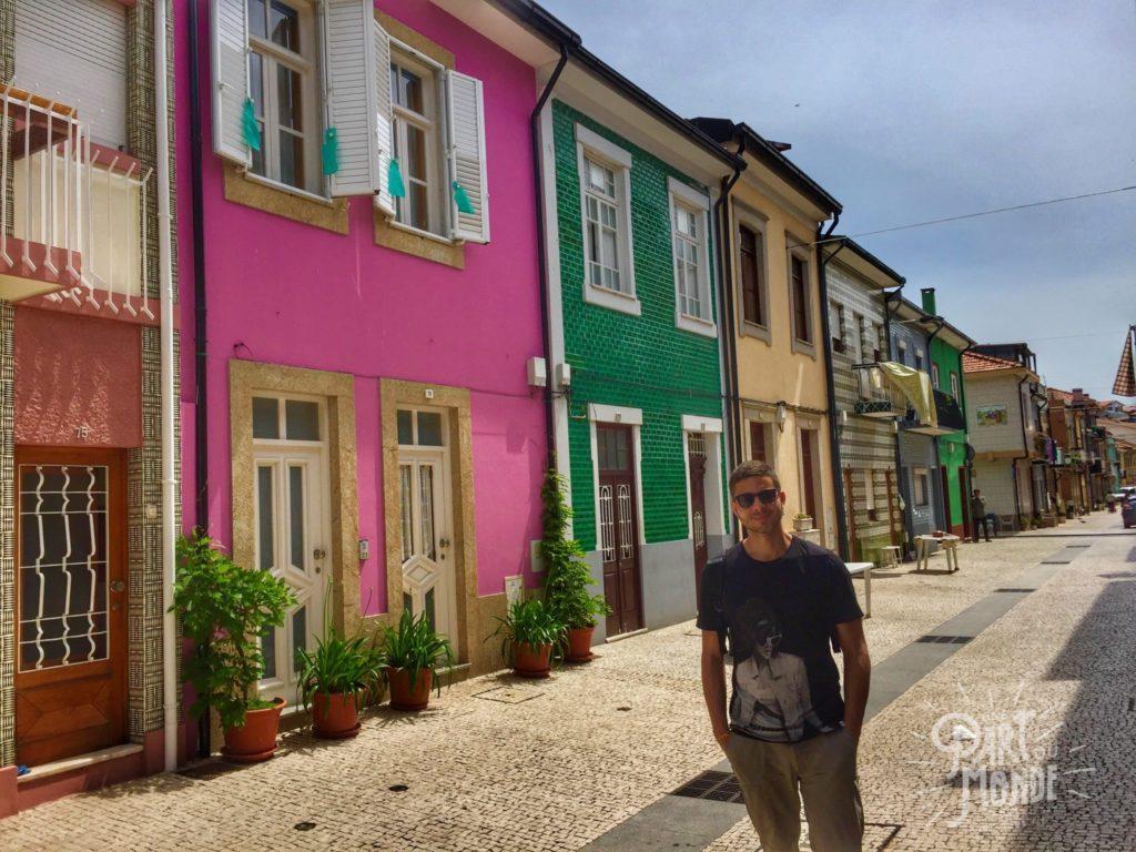 maisons colorées afurada porto