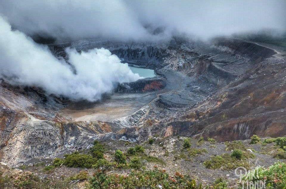 Costa Rica : Grecia, Volcan Poas et Sarchi