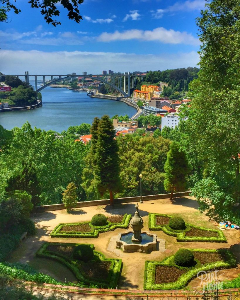 vue jardin palace crystal porto