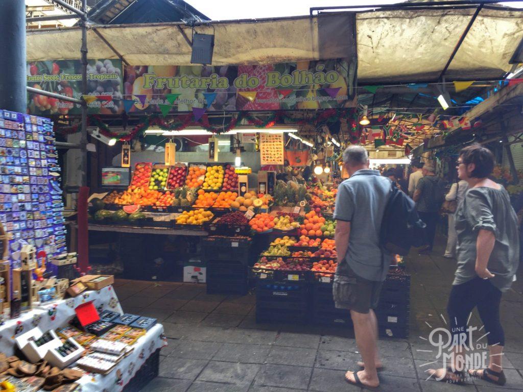 gastronomie à porto marché bolhao fruit