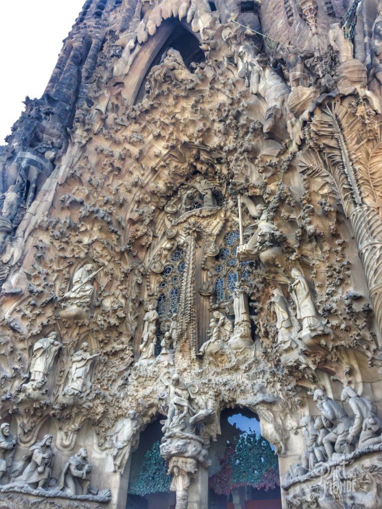 barcelone sagrada familia extérieur