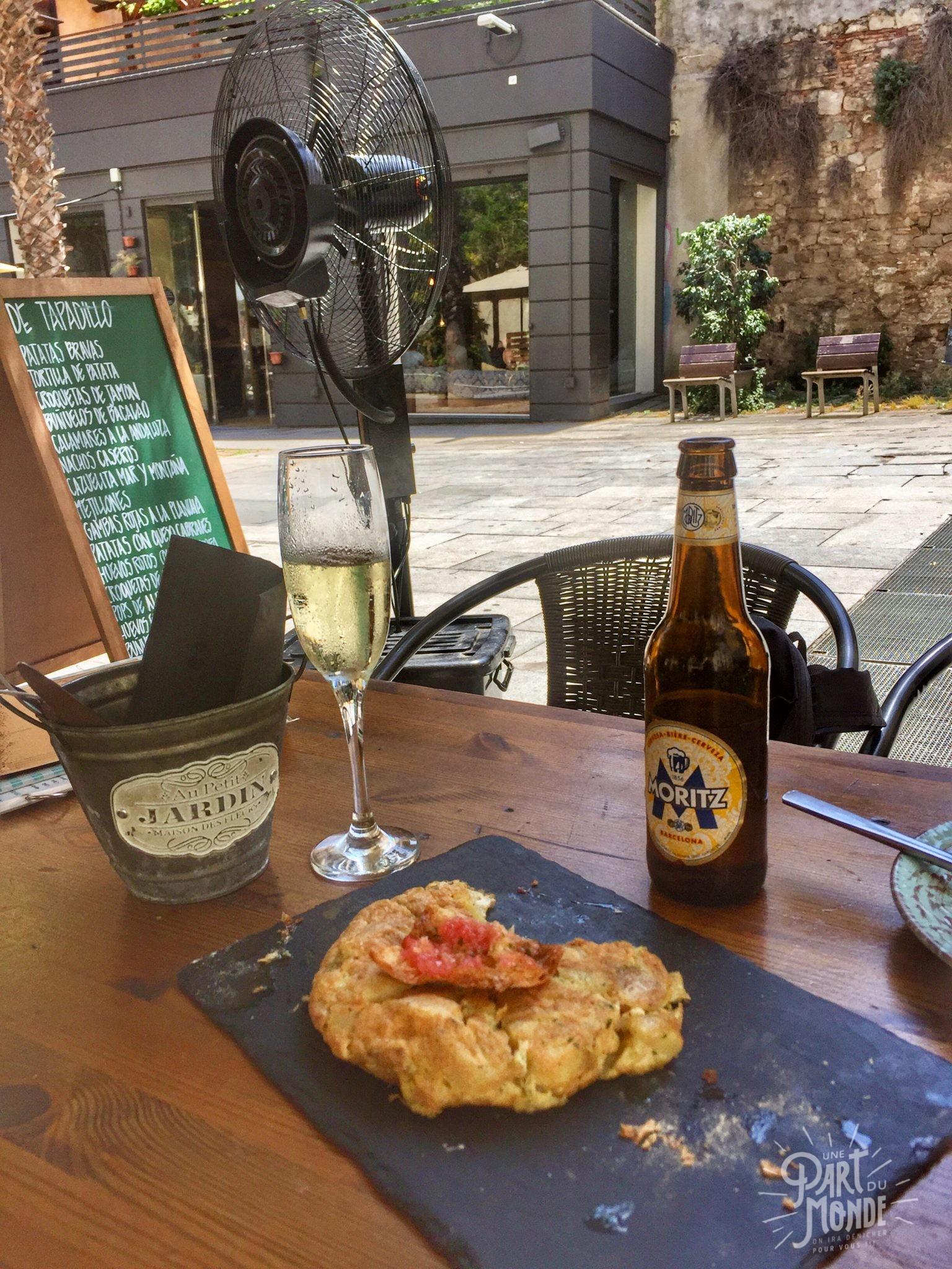 de tapadillo tapas à barcelone tortilla
