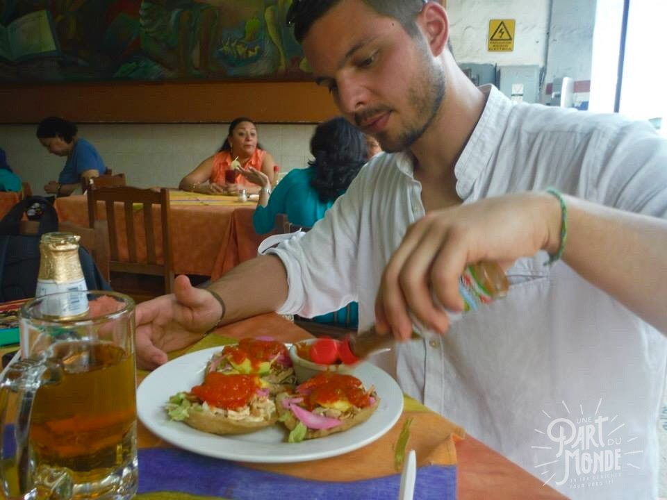 gastronomie mexicain panuchos campeche