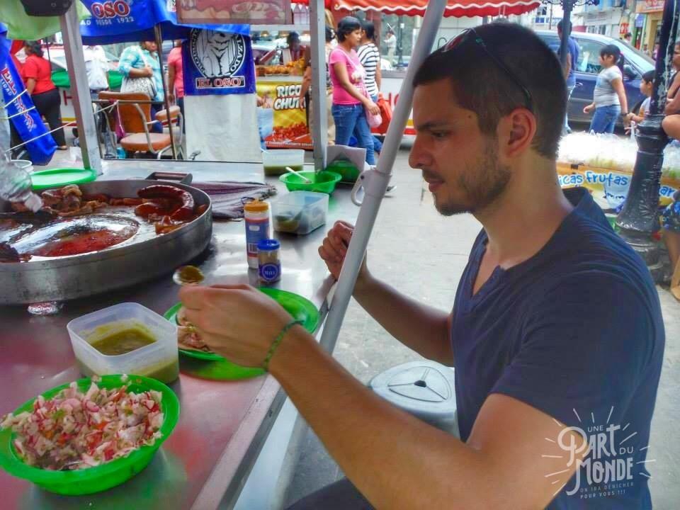gastronomie mexicain tacos street food