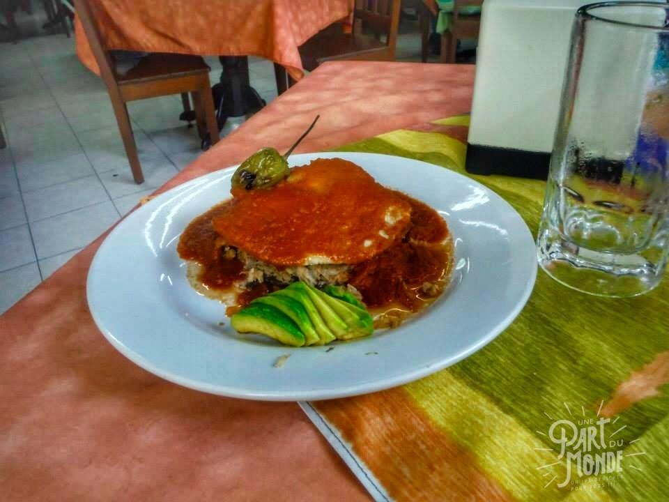 gastronomie mexicaine pan de cazon
