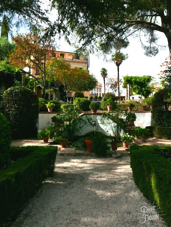 jardin casa del rey ronda