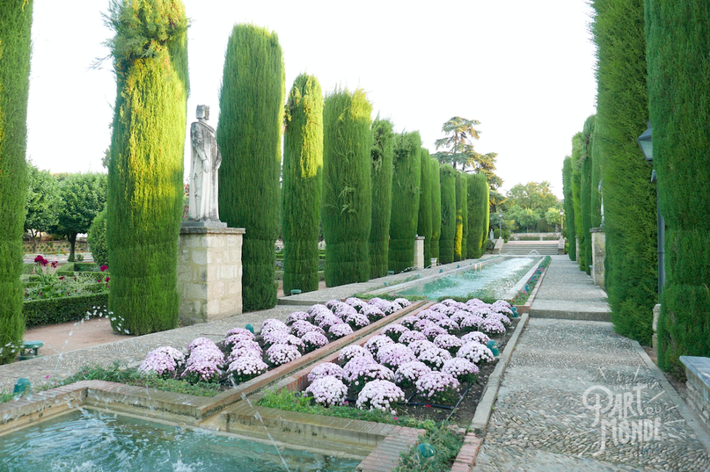 jardin alcazar cordoue 3
