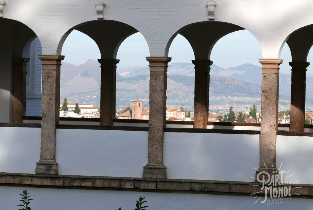 arabesque fenetre grenade alhambra generalife