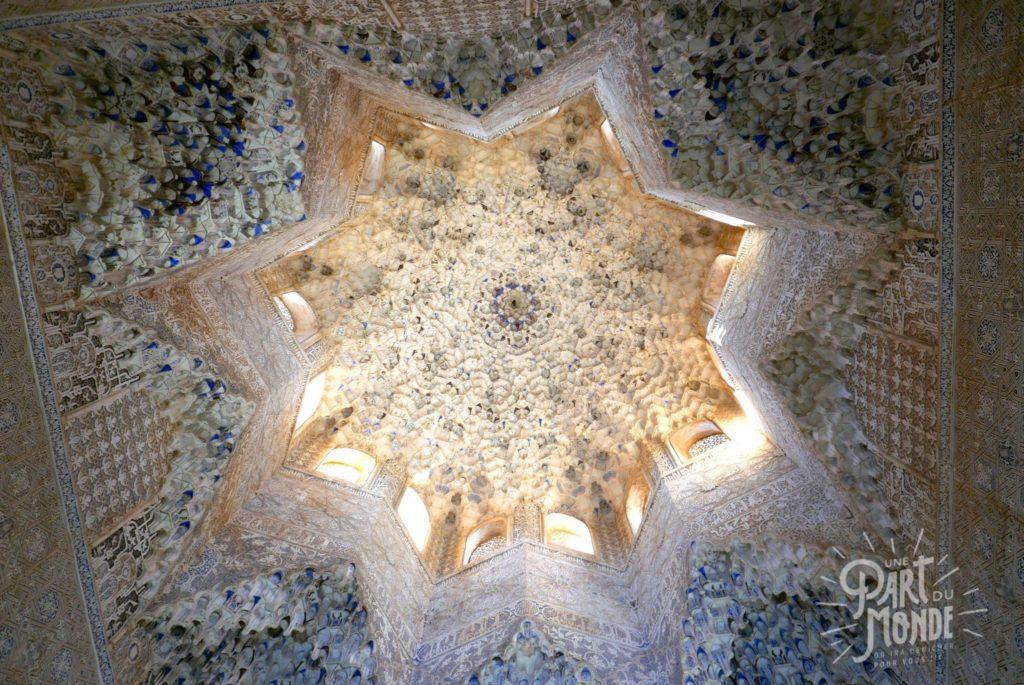 plafond alhambra grenade