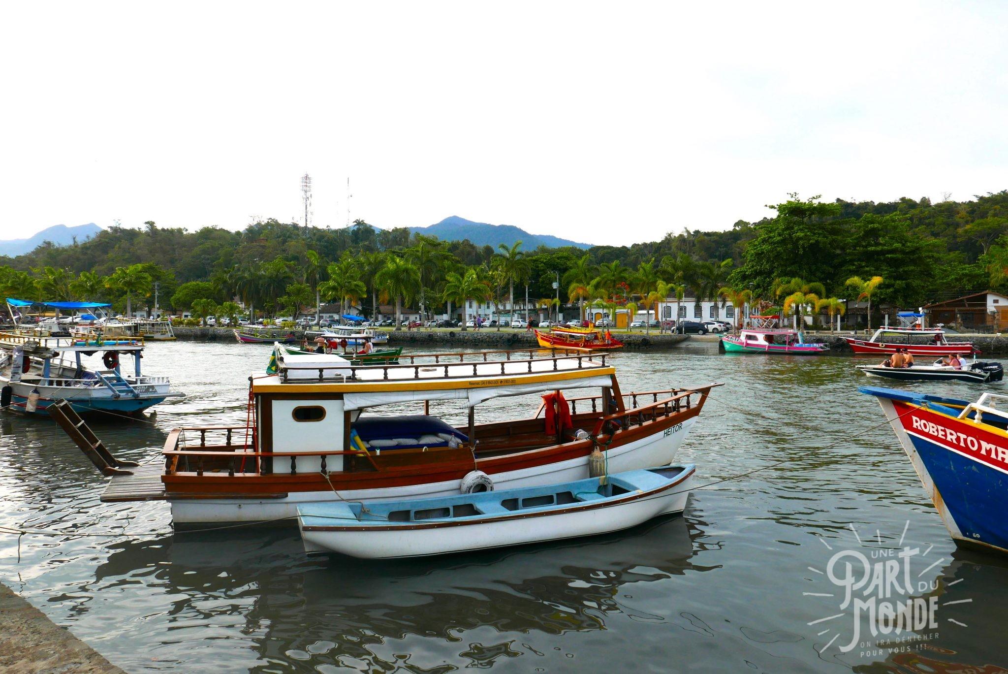 bateaux paraty