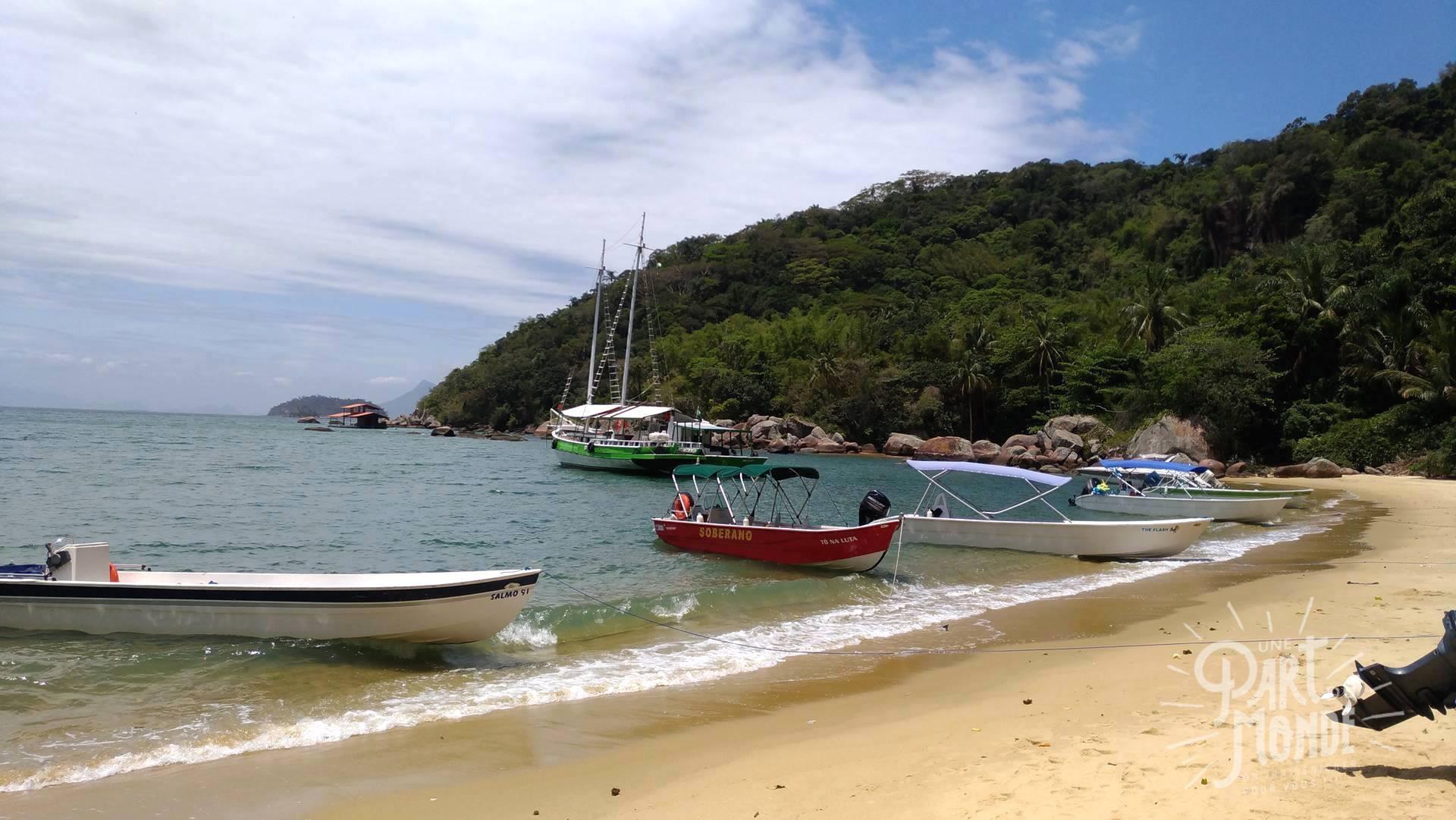 plage abraao ilha grande