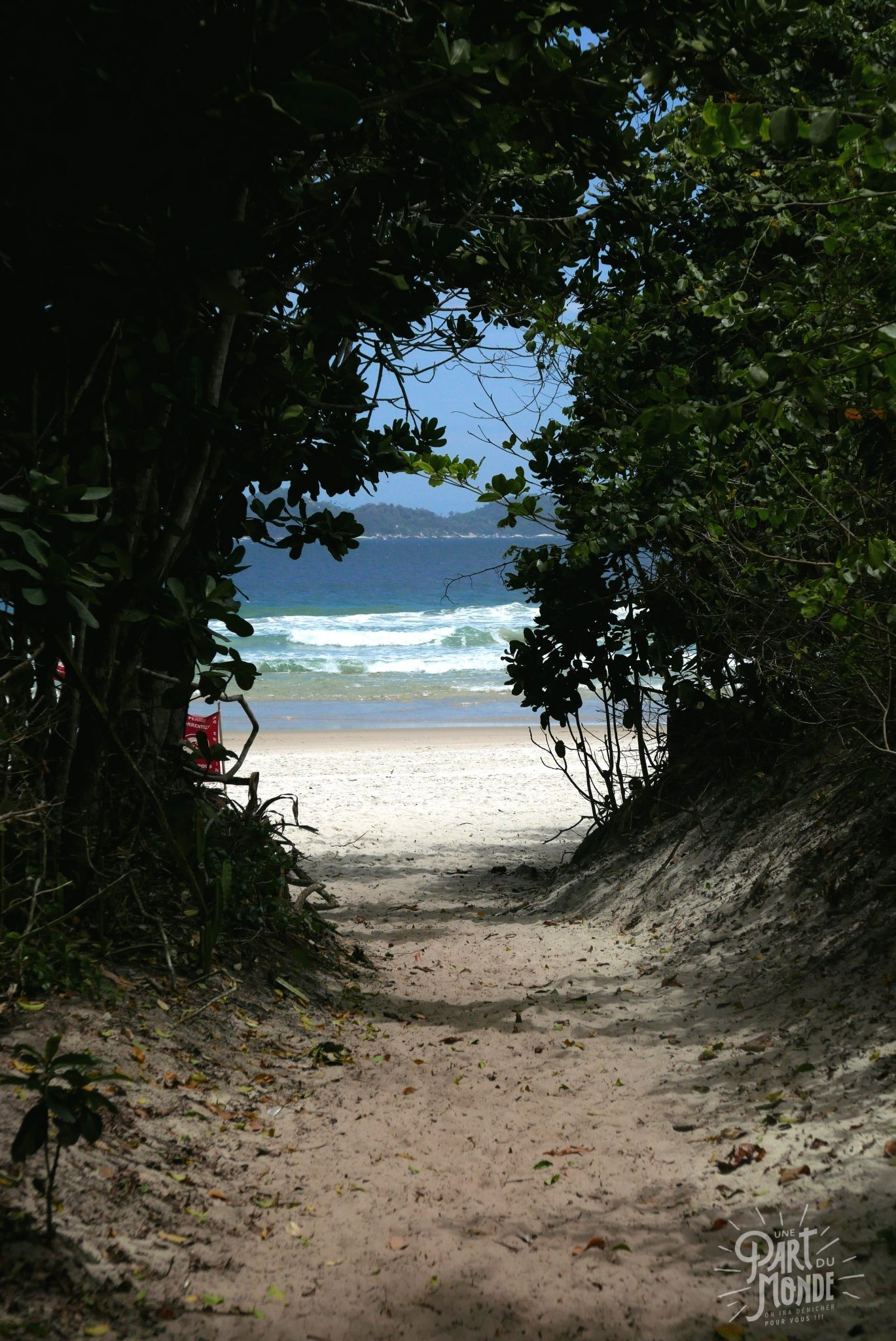 plage mendes lopes entrée ilha grande