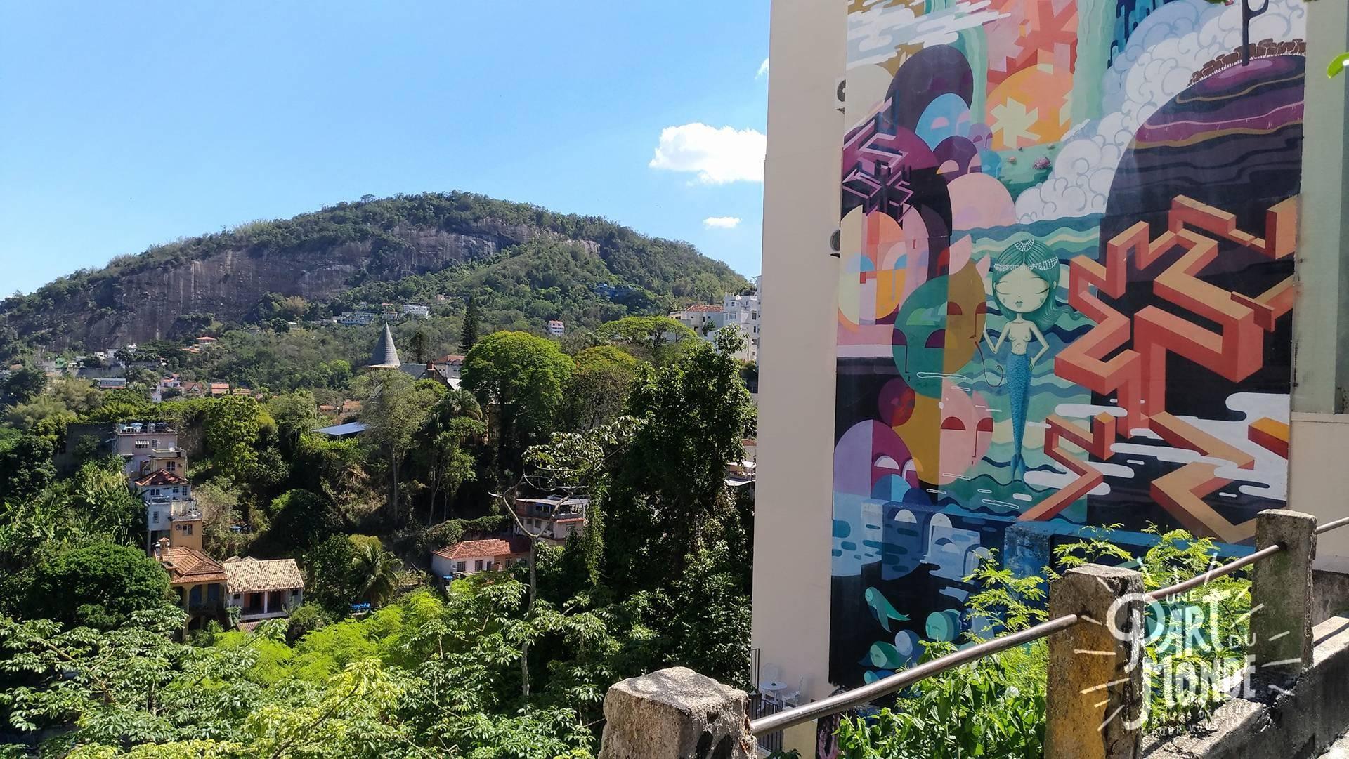 visiter rio de janeiro en 4 jours santa teresa street art