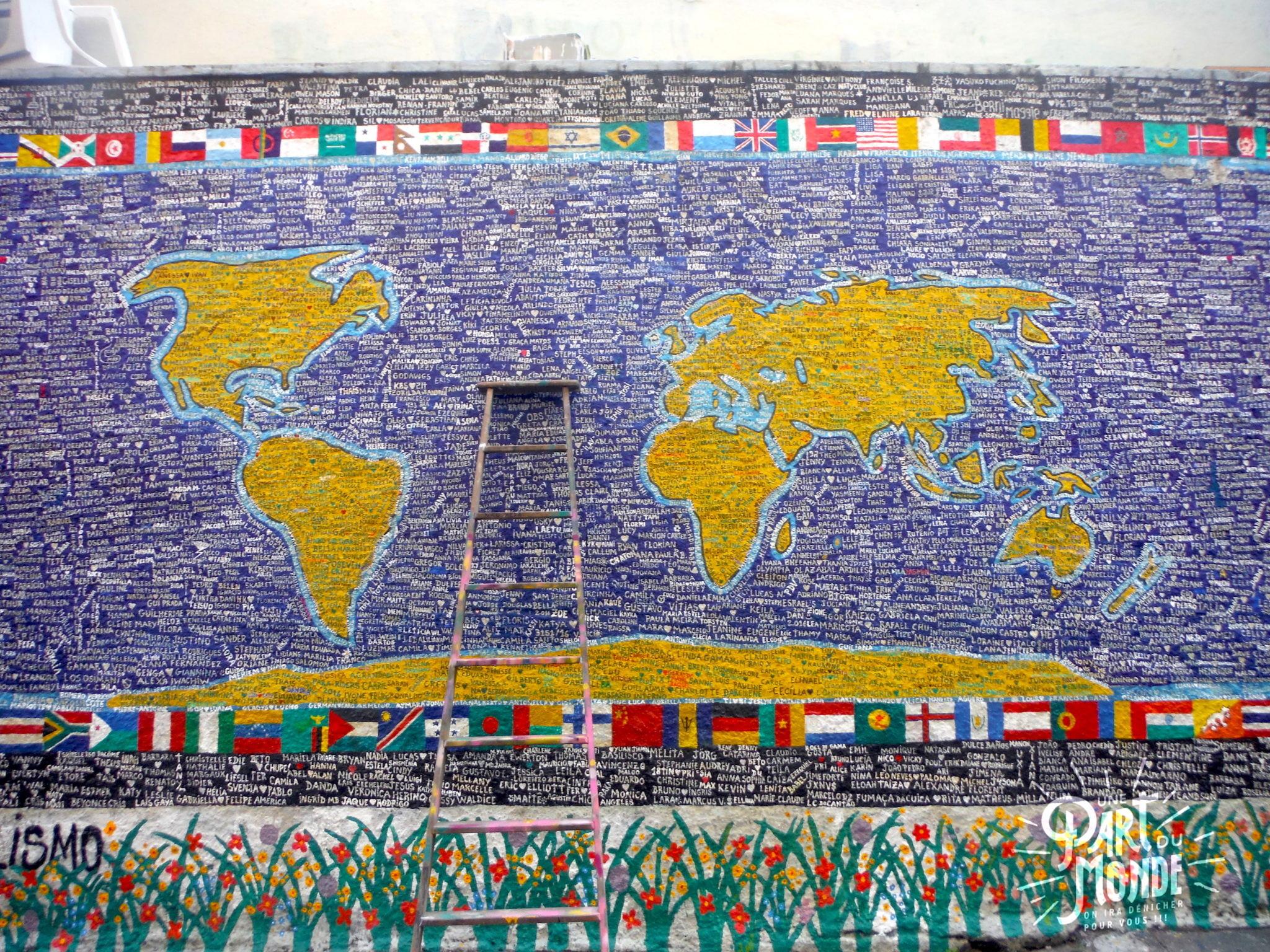 visiter rio de janeiro en 4 jours selaron world map