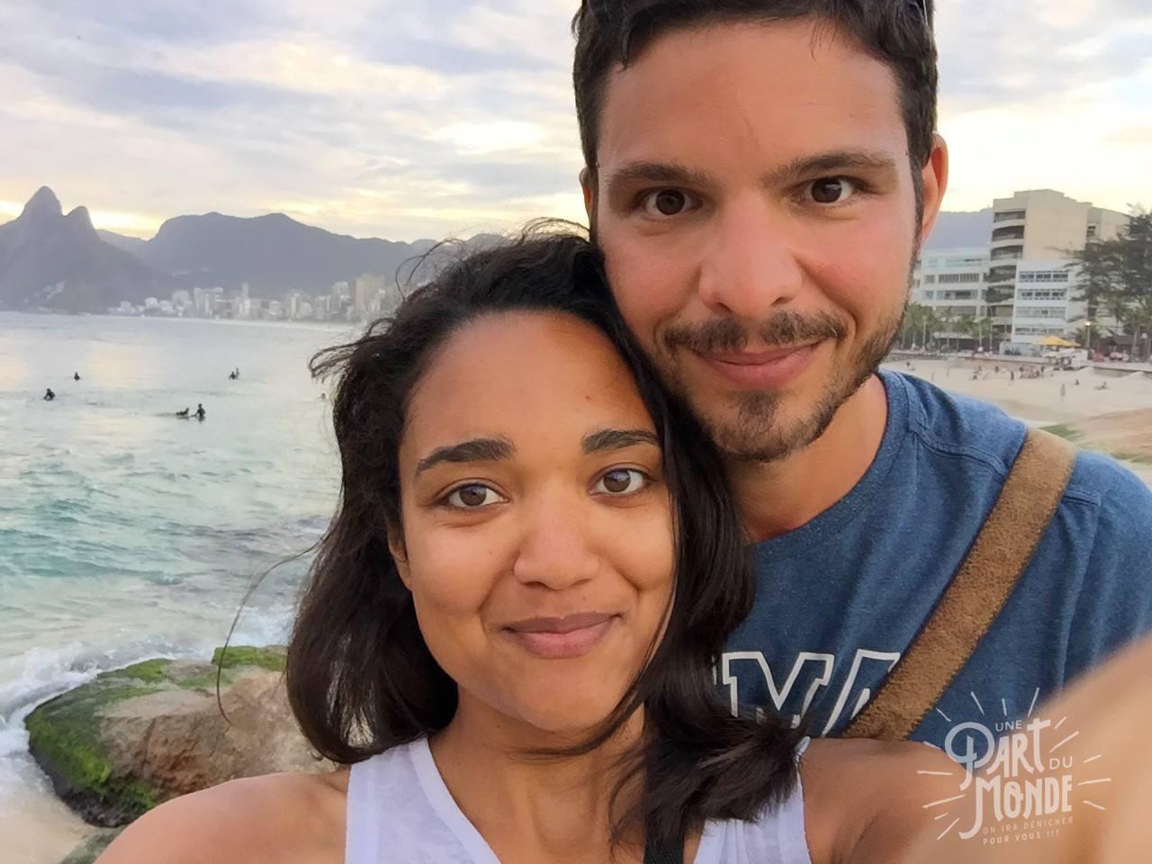 4 mois de voyage couple rio Ipanema