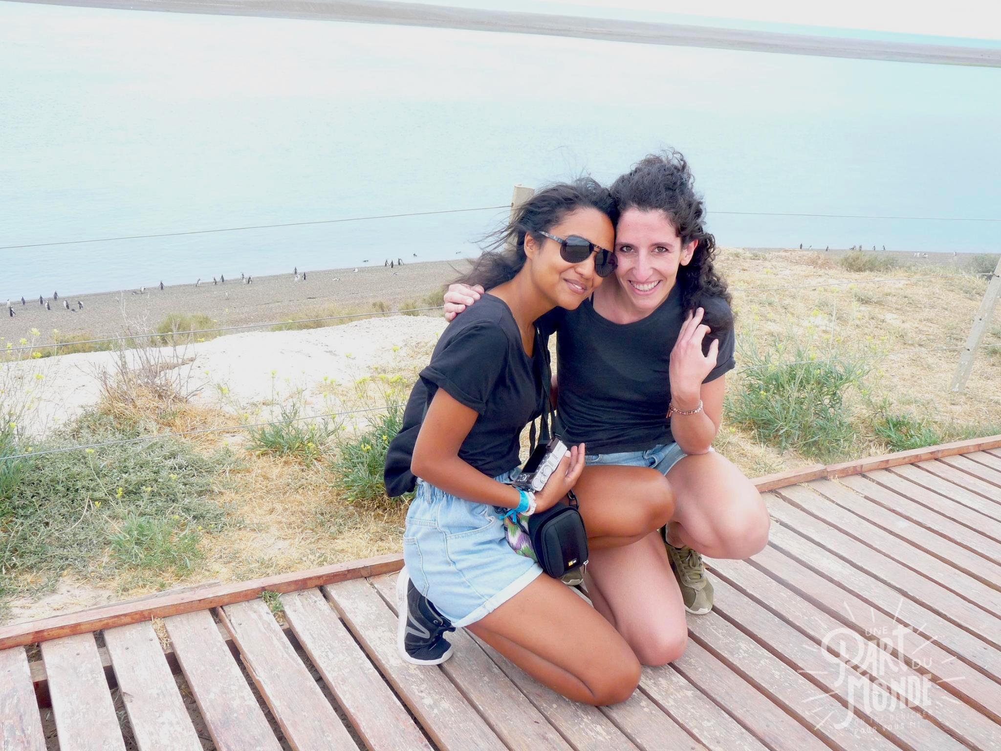 4 mois de voyage Camille et moi péninsule de Valdes