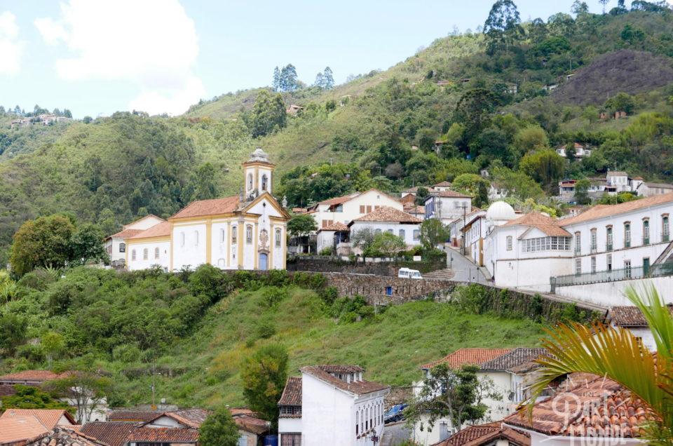 Ouro Preto : collines et églises baroques au coeur du Minas Gerais