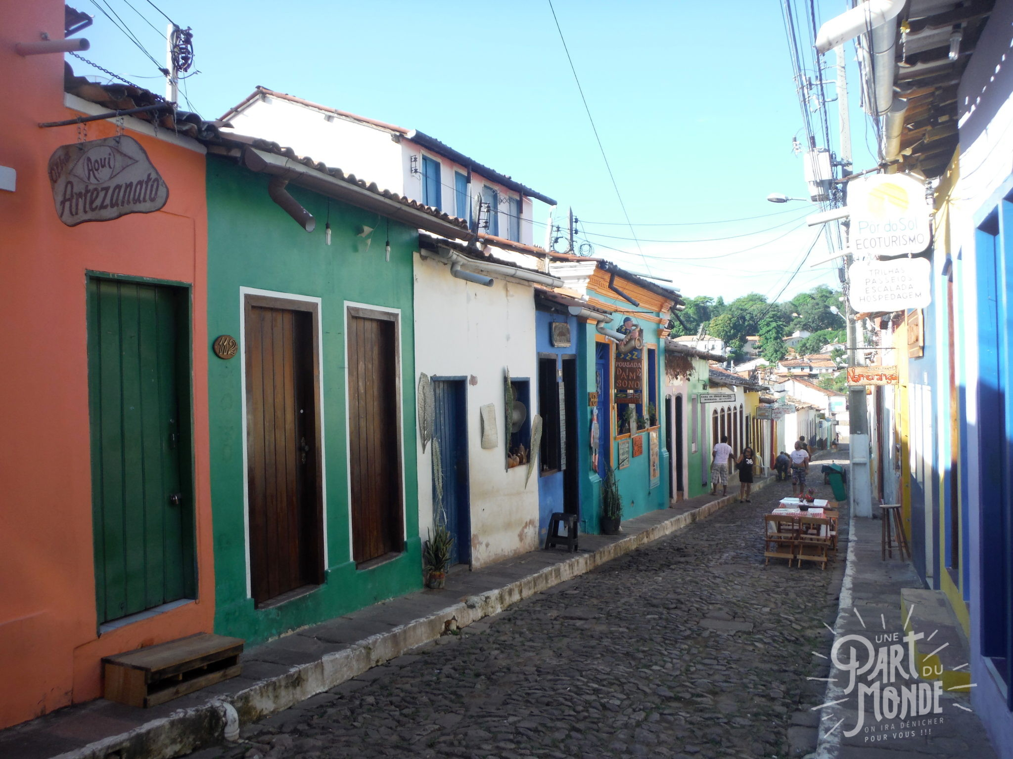 chapada diamantina village lençois coloré