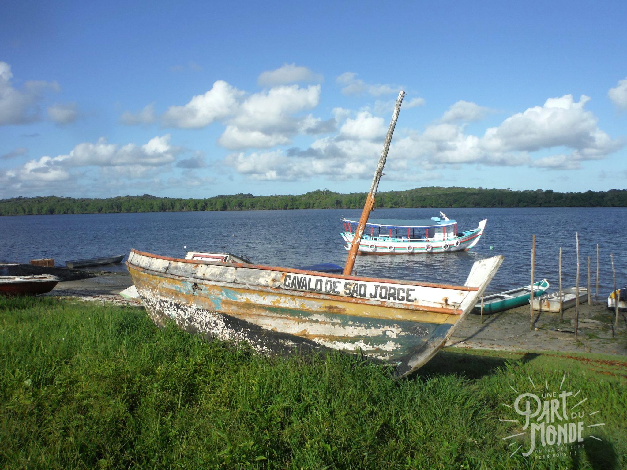 île de tinharé tour en bateau cairu épave