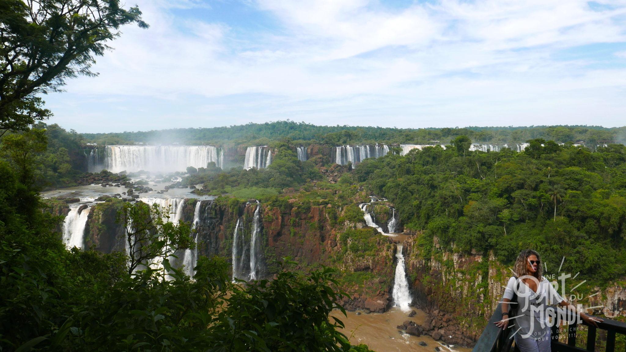 chutes d'iguazu côté brésilien1
