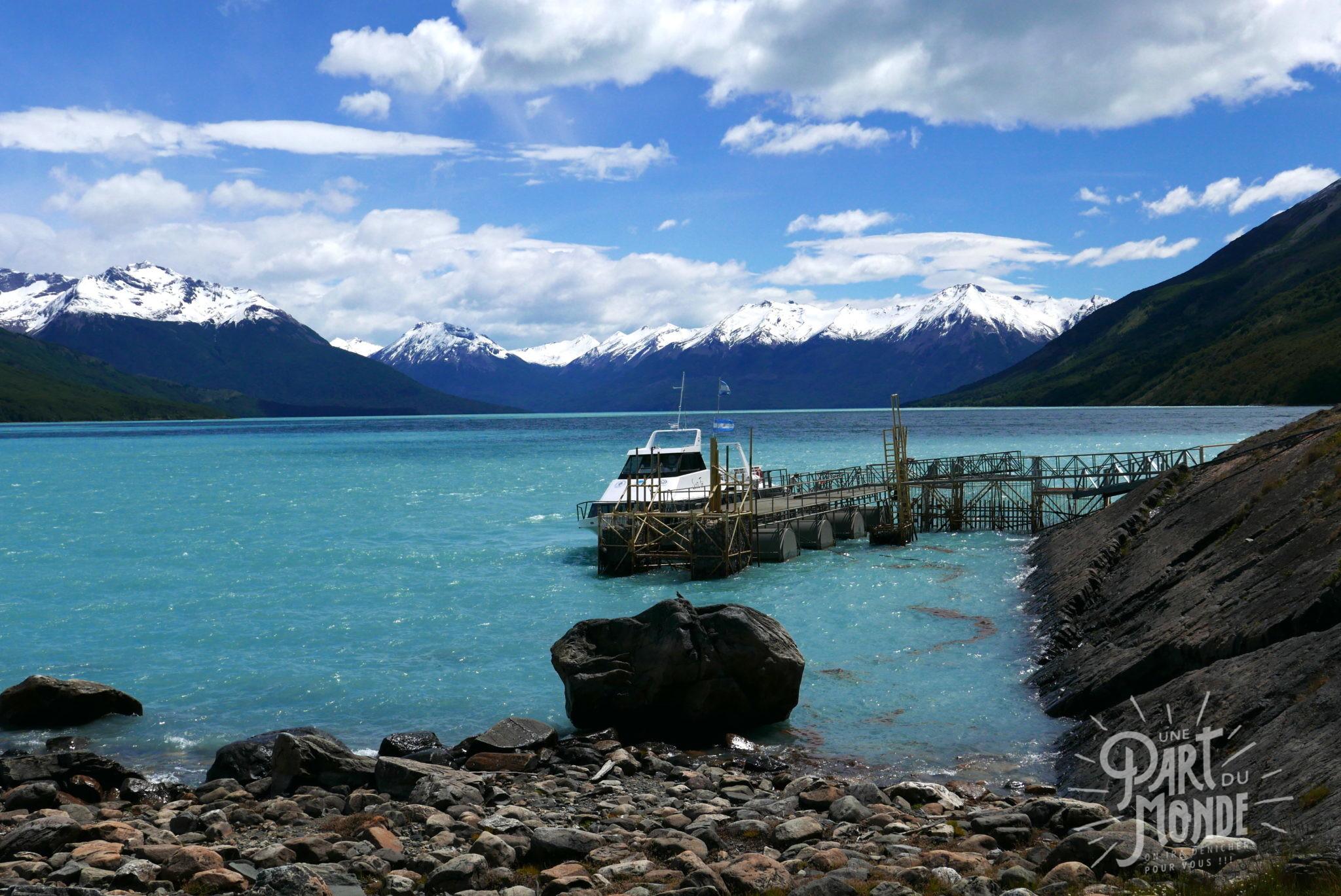 glacier perito moreno lac bateau