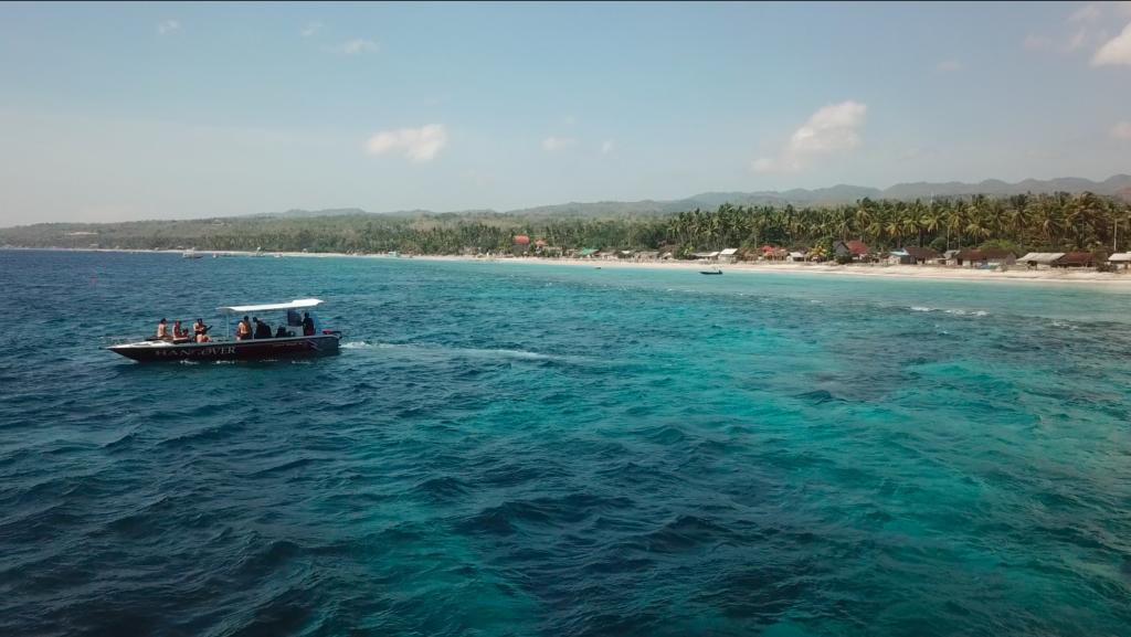 plongée nusa penida bateau hangover