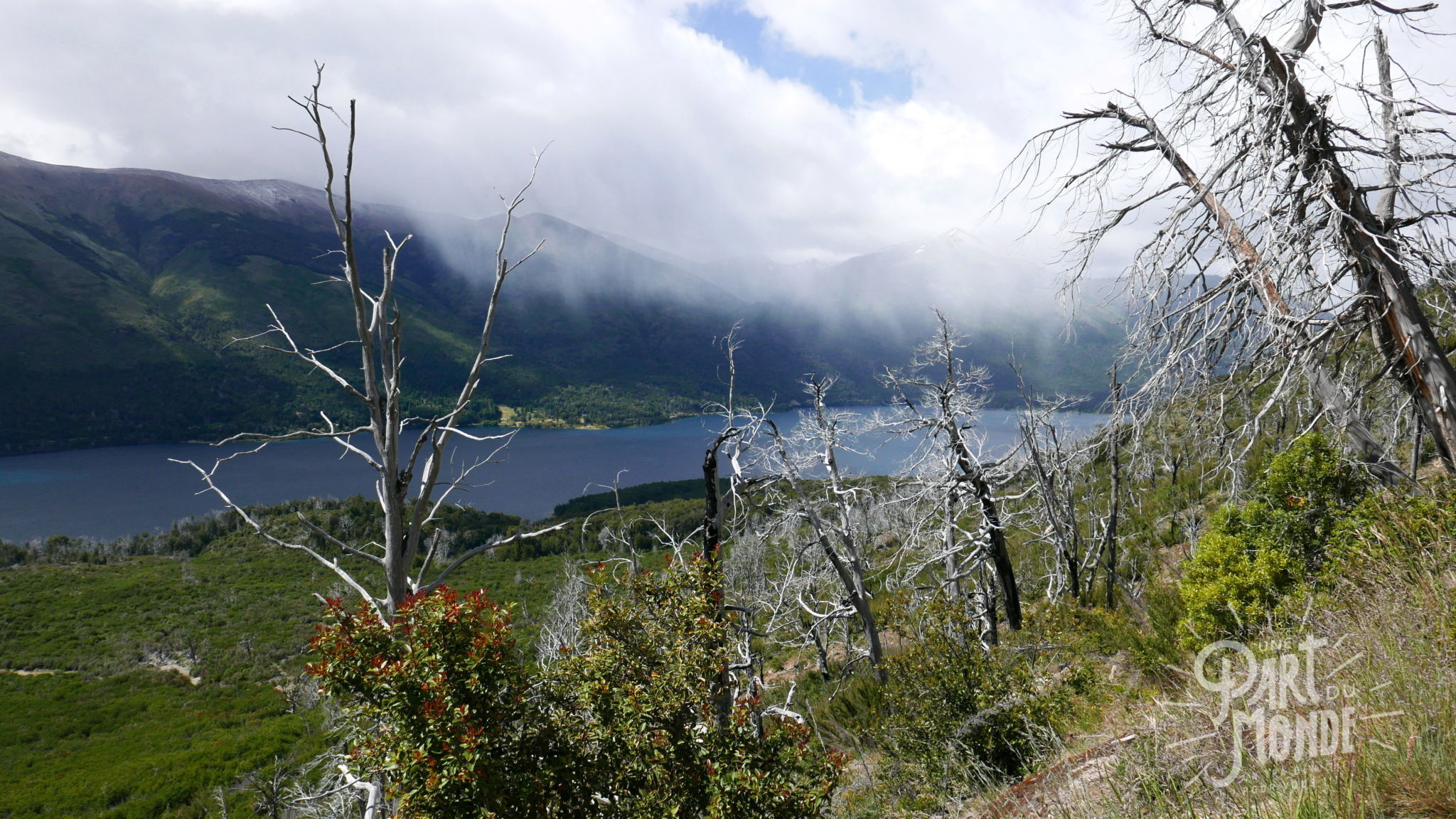 bariloche refuge frey vue lac