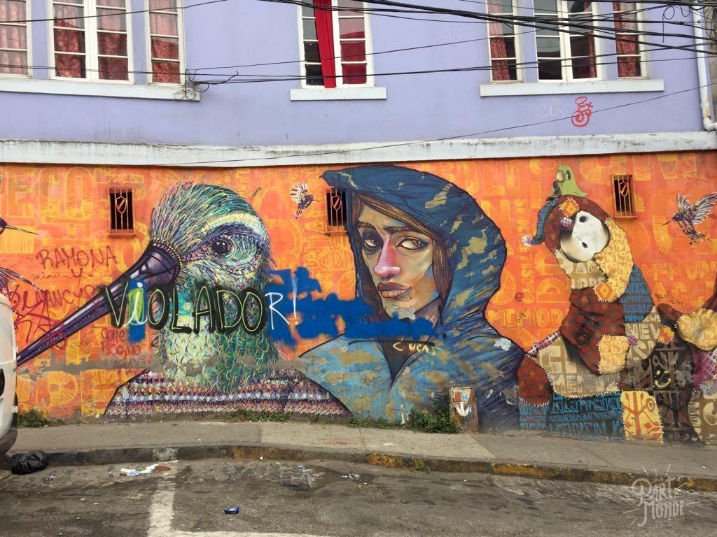 Inti street art valparaiso