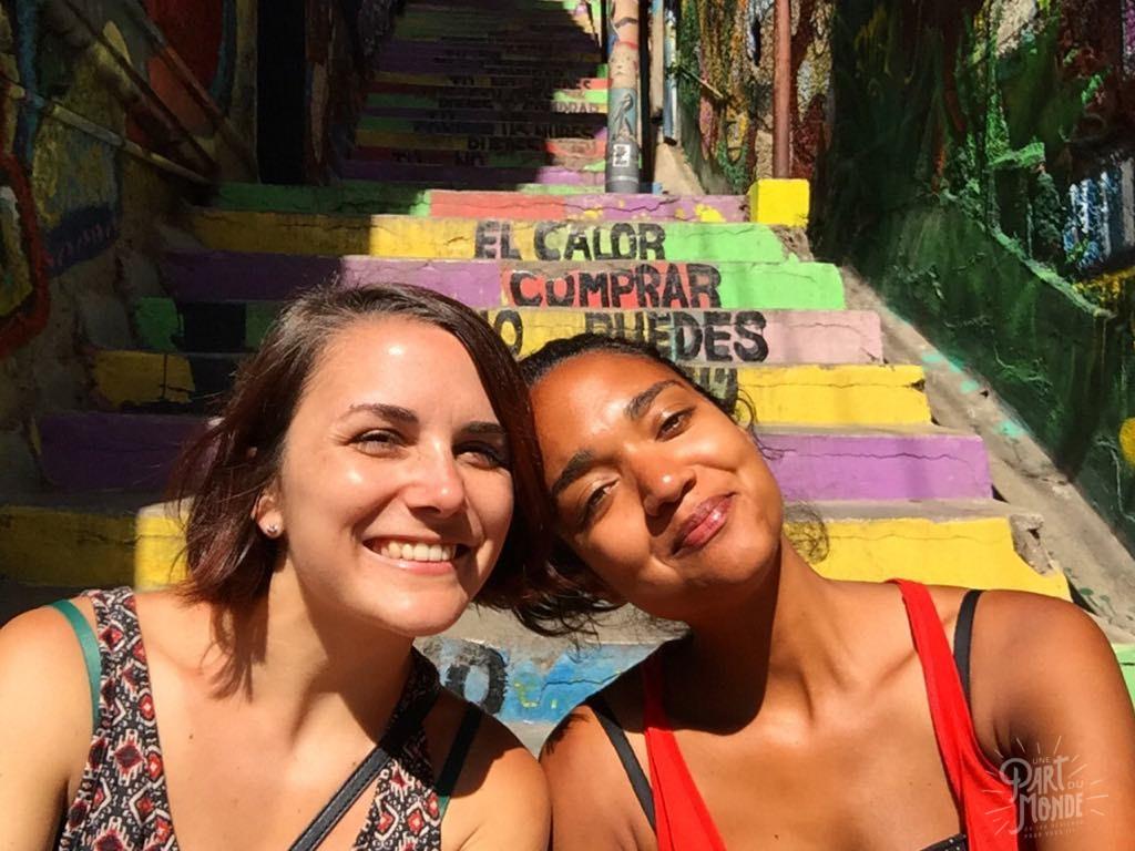 krystel et lisa Valparaiso