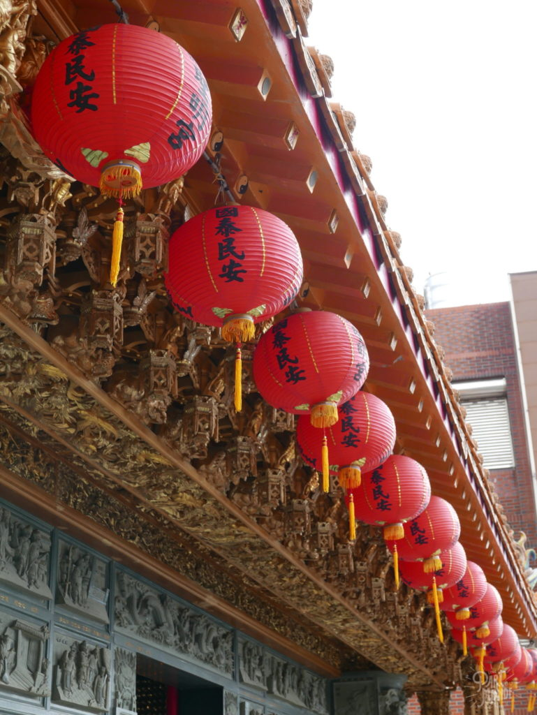 lanternes temples jiufen