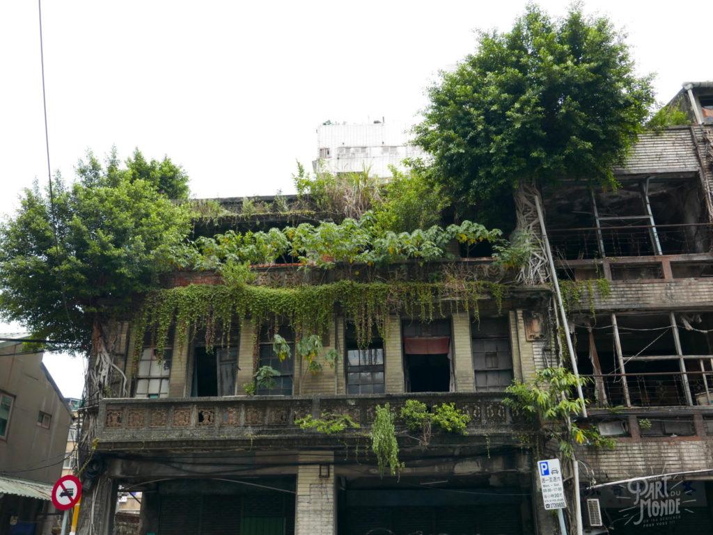 maison abandonnée taipei