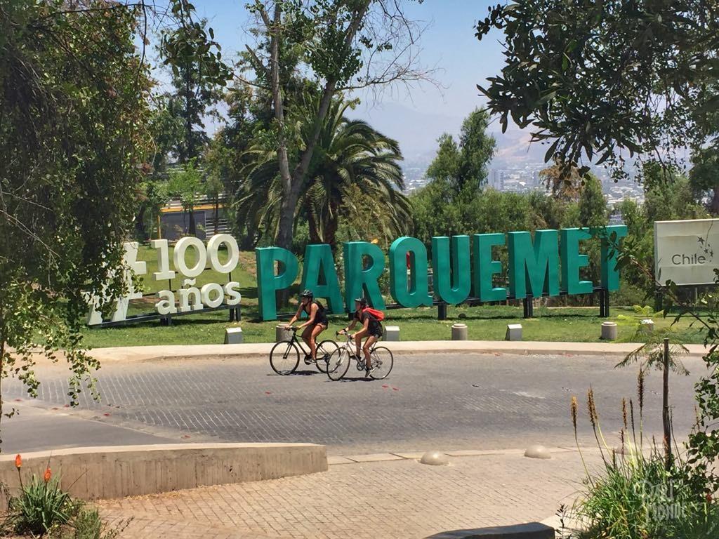 parc cerro cristobal santiago du chili
