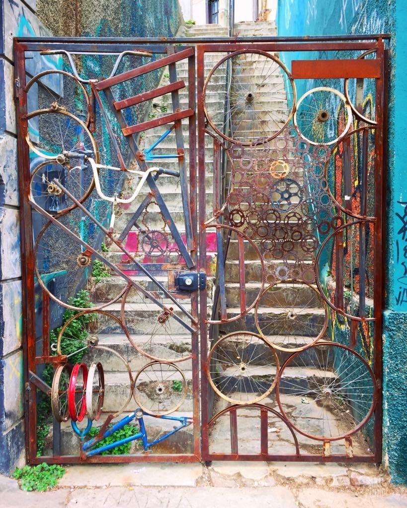 portail vélo Valparaiso