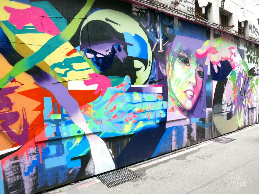 street art 2 ximending taipei