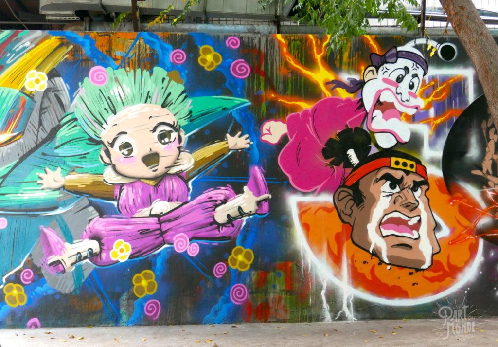 street art 3 ximen taipei