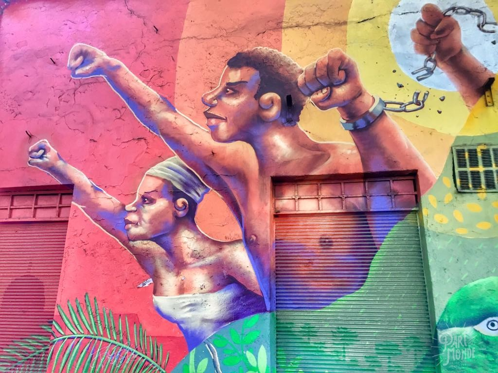 street art bellavista santiago du chili