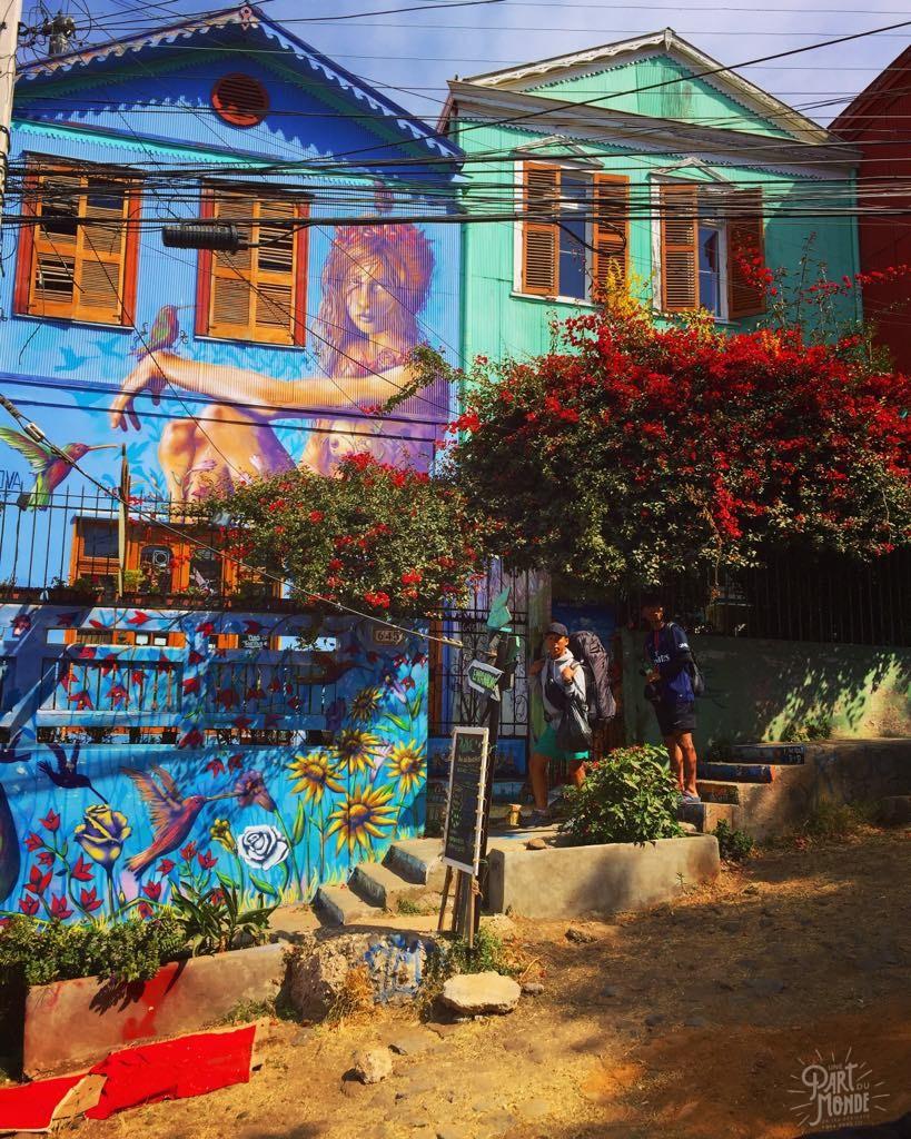 street art fleuri valparaiso