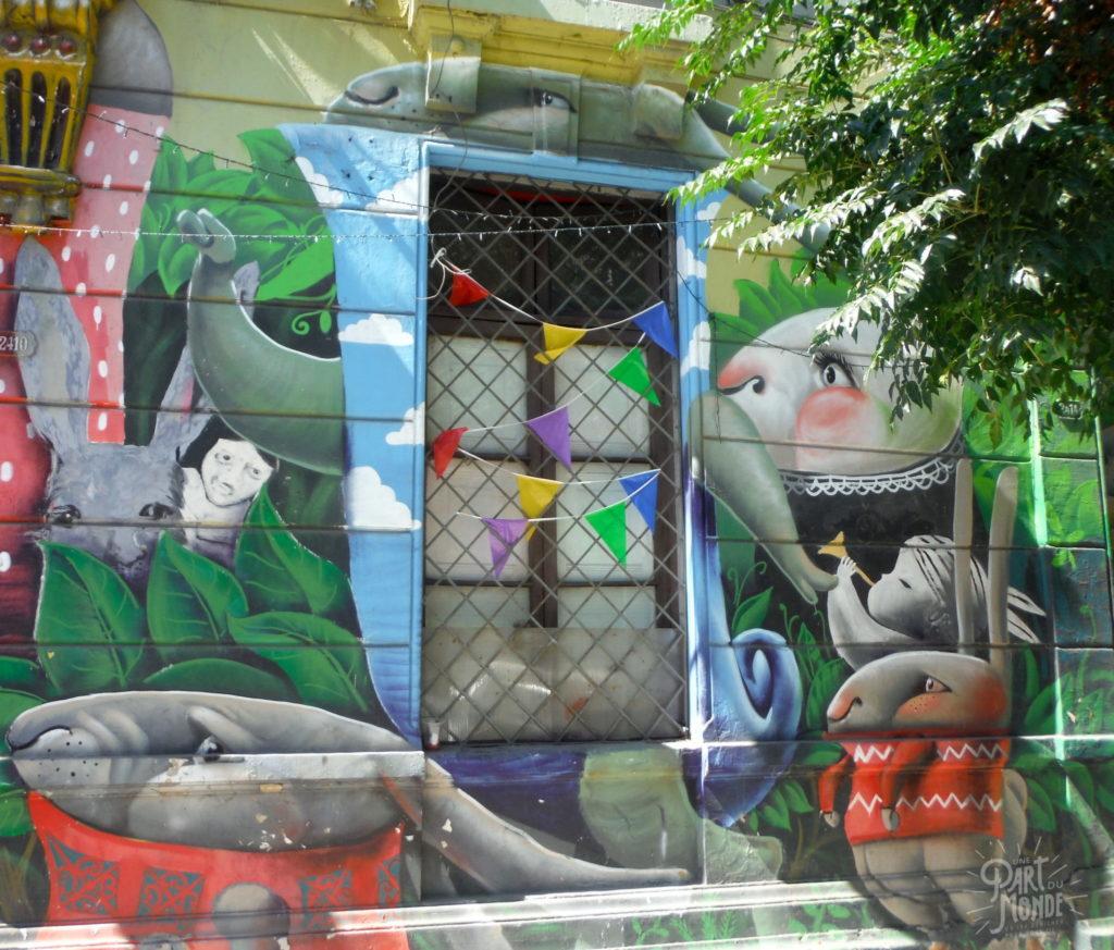 street art naif santiago du chili