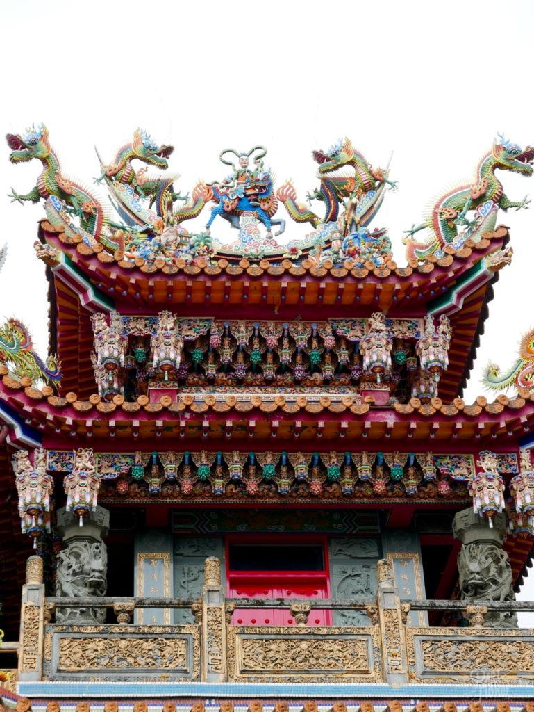temple jiufen détails