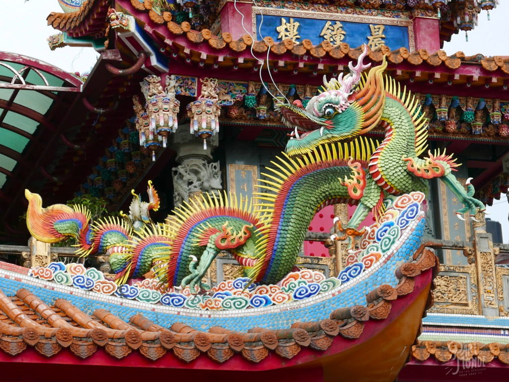 temple serpent jiufen