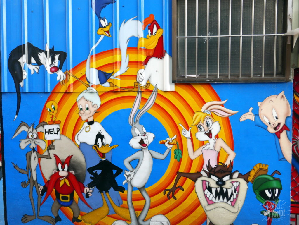 animated alley looney tunes taichung