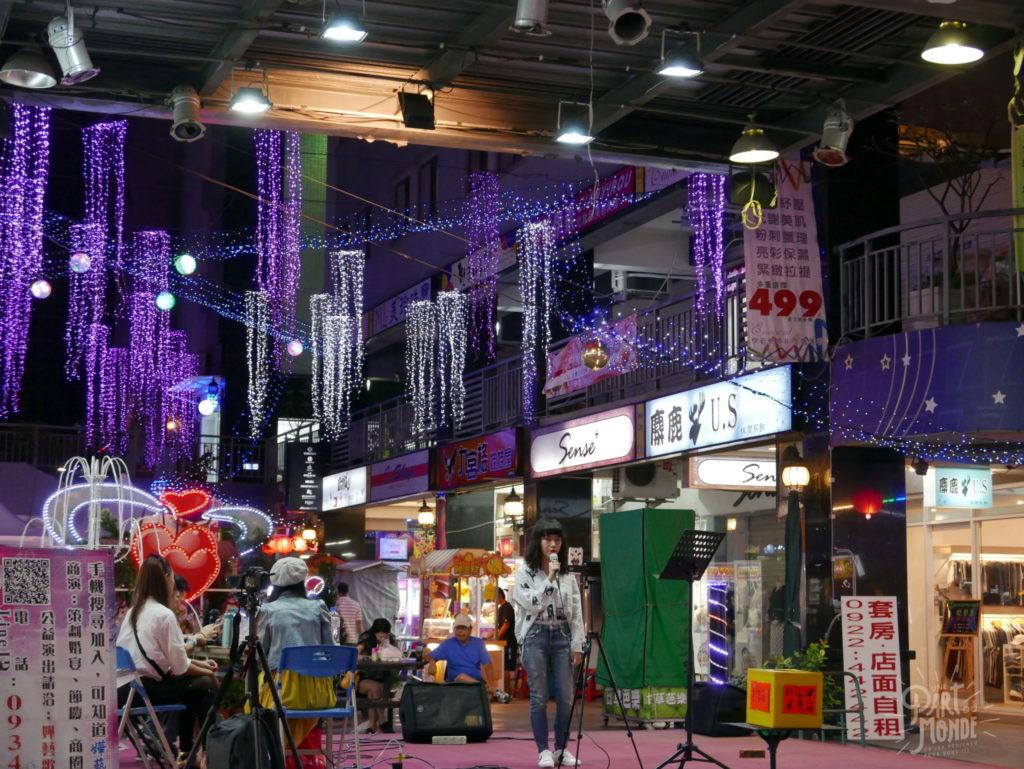 karaoké night market taichung