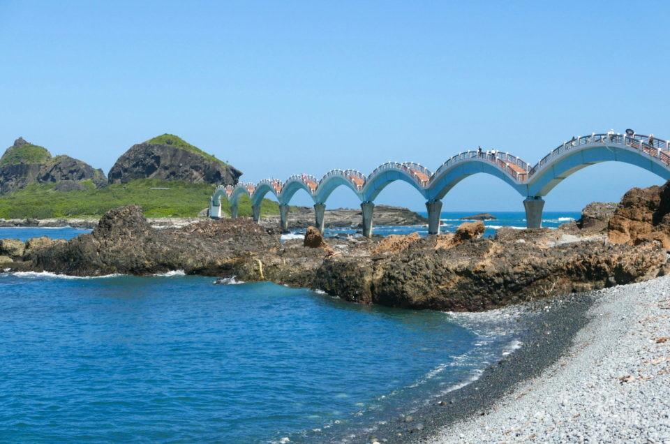 Le pont du Dragon à Sanxiantai : 1ère merveille de la côte est de Taiwan