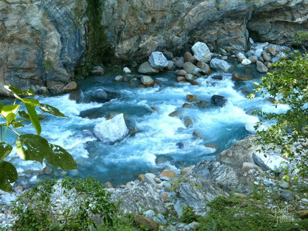 Gorges de Taroko rivière